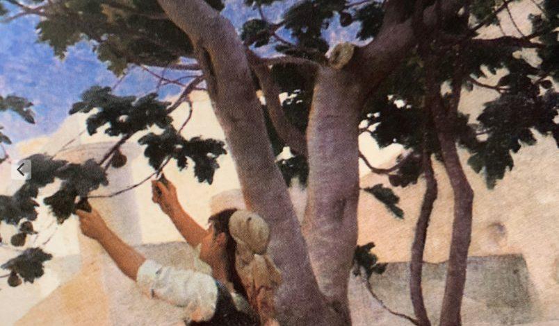 La cueillette des figues Paul-Edouard Rossert -Granger Ecole française du XIXe siècle Muée Granet Aix-en-Provence